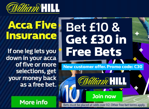 William Hill online betting offers